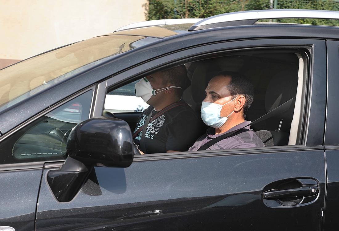 Masken Autofahren